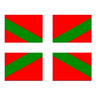 Cartão Postal Bandeira Basque