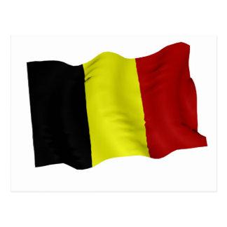 Cartão Postal Bandeira belga