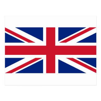 """Cartão Postal Bandeira BRITÂNICA """"Union Jack """" de Reino Unido da"""