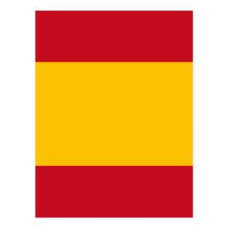 Cartão Postal Bandeira da espanha, Bandera de España, bandera