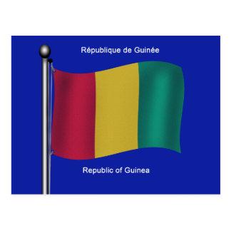 Cartão Postal Bandeira da Guiné