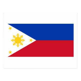 Cartão Postal Bandeira das Filipinas