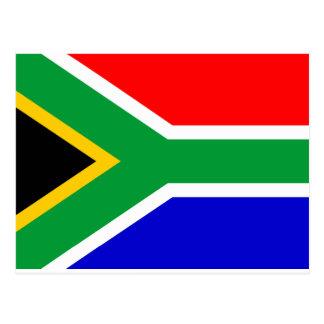 Cartão Postal Bandeira de África do Sul