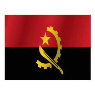 Cartão Postal Bandeira de Angola
