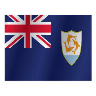 Cartão Postal Bandeira de Anguilla