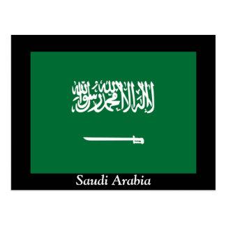 Cartão Postal Bandeira de Arábia Saudita