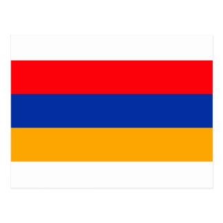 Cartão Postal Bandeira de Arménia