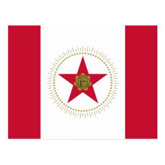 Cartão Postal Bandeira de Birmingham, Alabama