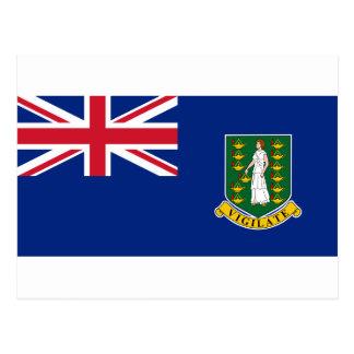 Cartão Postal Bandeira de British Virgin Islands