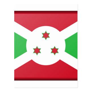 Cartão Postal Bandeira de Burundi