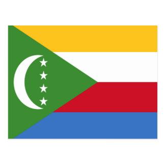 Cartão Postal Bandeira de Cômoros