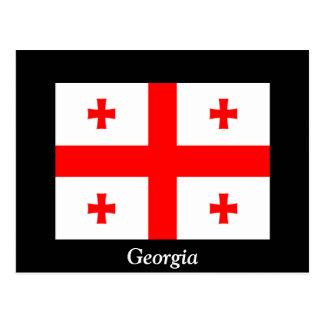 Cartão Postal Bandeira de Geórgia (país)