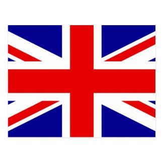 Cartão Postal Bandeira de Grâ Bretanha
