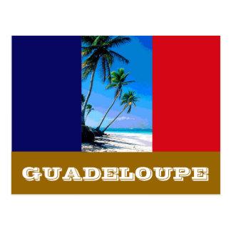 Cartão Postal Bandeira de Guadalupe