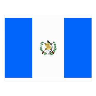 Cartão Postal Bandeira de Guatemala