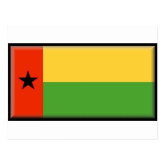 Cartão Postal Bandeira de Guiné-Bissau