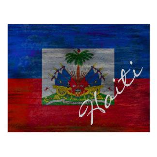 Cartão Postal Bandeira de Haiti - bandeira haitiana -