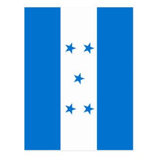 Cartão Postal Bandeira de Honduras - bandera Hondureña de