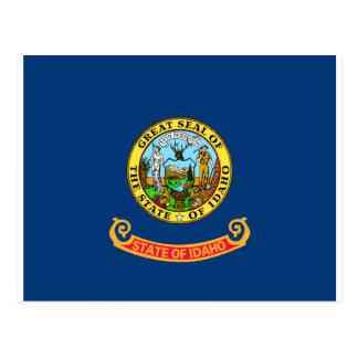 Cartão Postal Bandeira de Idaho