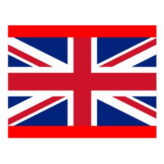 Cartão Postal bandeira de Inglaterra