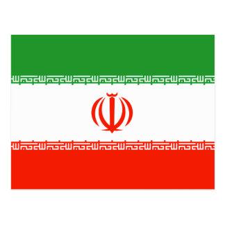 Cartão Postal Bandeira de Irã