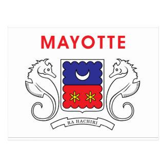 Cartão Postal Bandeira de Mayotte