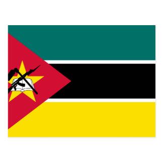 Cartão Postal Bandeira de Mozambique