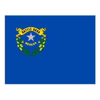 Cartão Postal Bandeira de Nevada