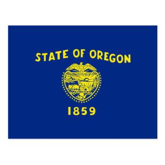 Cartão Postal Bandeira de Oregon