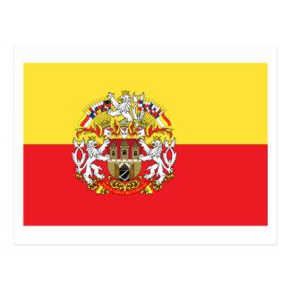 Cartão Postal Bandeira de Praga