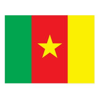 Cartão Postal Bandeira de República dos Camarões