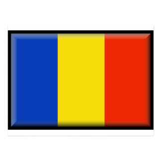 Cartão Postal Bandeira de Romania