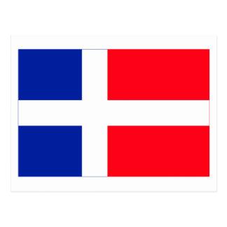 Cartão Postal Bandeira de Sarre (1947-1956)