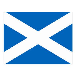 Cartão Postal Bandeira de Scotland