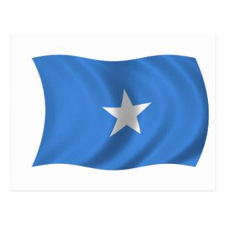 Cartão Postal Bandeira de Somália