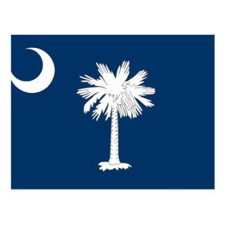 Cartão Postal Bandeira de South Carolina, os Estados Unidos