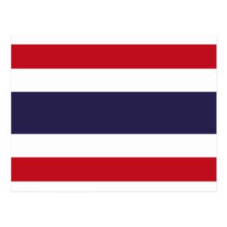 Cartão Postal Bandeira de Tailândia