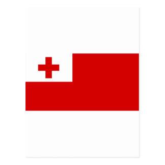 Cartão Postal Bandeira de Tonga