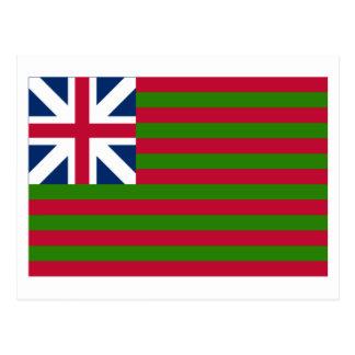 Cartão Postal Bandeira de união grande naval