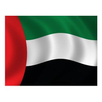 Cartão Postal Bandeira de United Arab Emirates