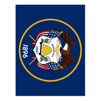 Cartão Postal Bandeira de Utá