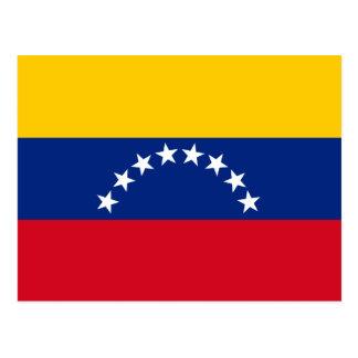 Cartão Postal Bandeira de Venezuela