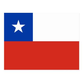 Cartão Postal Bandeira do Chile