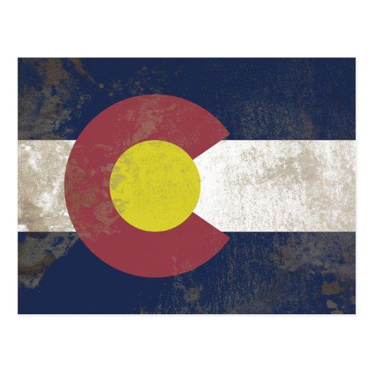 Cartão Postal Bandeira do Coloraddo