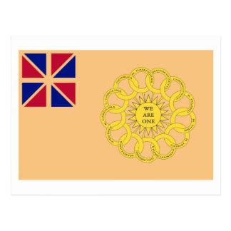 Cartão Postal Bandeira do regimento de New Hampshire ?a
