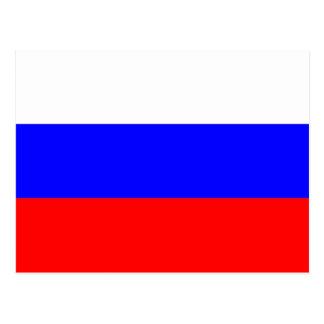 Cartão Postal Bandeira do russo