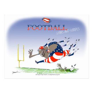 Cartão Postal Bandeira dos Estados Unidos dos EUA, fernandes