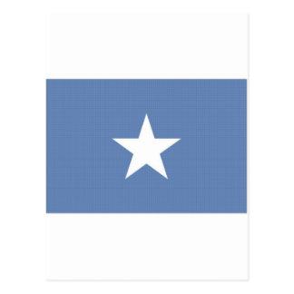 Cartão Postal Bandeira nacional de Somália
