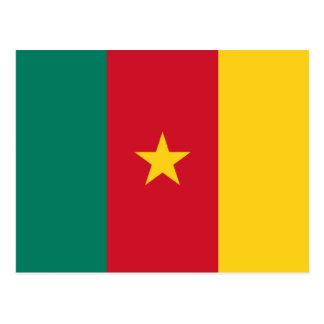 Cartão Postal Bandeira nacional do mundo de República dos
