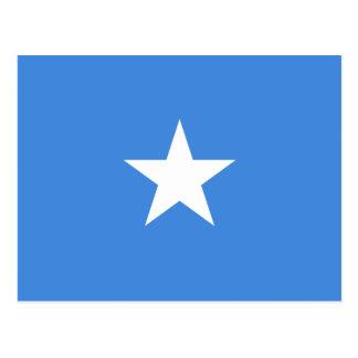 Cartão Postal Bandeira nacional do mundo de Somália